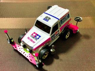 Pink Jeep MINI4WD